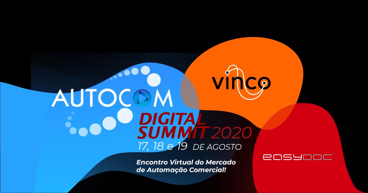 Vinco estará presente no AUTOCOM Digital Summit 2020!