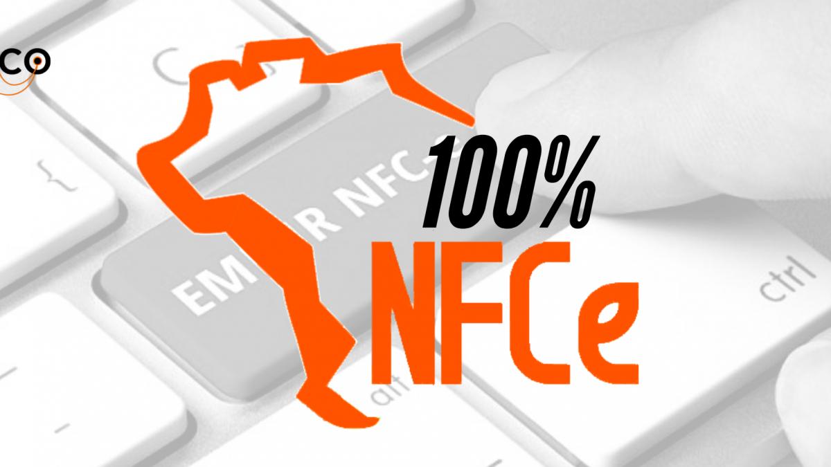 O Brasil agora é 100% NFC-e!